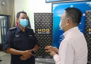 Dato' Henry and ACP Mohd Zaid Hassan